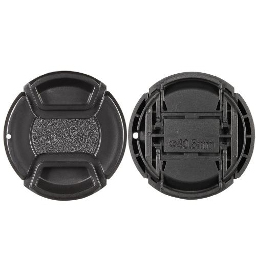40.5mm Center Pinch Zatrzaskowy uchwyt pokrywy obiektywu Uchwyt Keeper do aparatu Canon Nikon Sony Olympus DSLR Camera