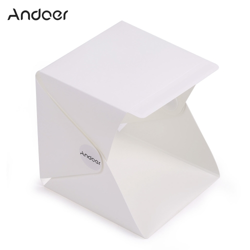 Andoer Folding Foldable Portable Mini Photography Lightbox Studio for iPhone Samsang LG HTC Smartphone Digital or DSLR Camera