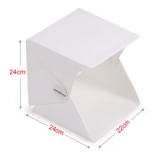 Andoer Folding Foldable Portable Mini Photography Lightbox Studio