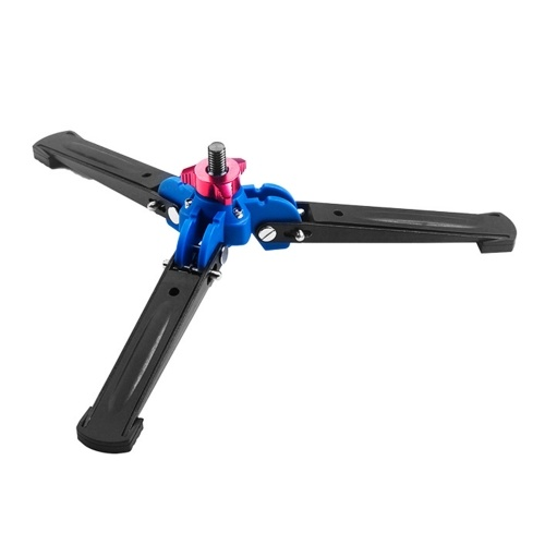 Three Leg DSLR Camera Photography Mini Tripod Monopod Unipod Base Stand Holder Support with 3/8