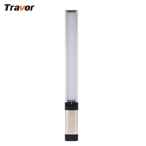 Travor L2S Light Air Rectangle Handheld LED Video Fill-in Photography Dimmable Light Panel 5500K with Orange/Blue/Green Filters