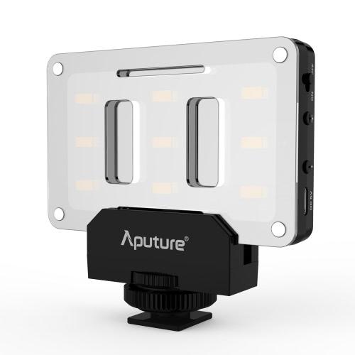 Aputure AL-M9 Amaran Lighting Up Pint-Sized LED Mini Video Light with 9 SMD Bulbs TLCI 95+ 9 Steps Adjustable Brightness