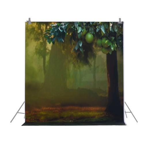 1,5 * 2m / 4,9 * Tło 6.5ft Fotografia tle Computer Printed Fruit Tree Wzorzec dla dzieci Kid Dziecko Noworodek Pet zdjęcie portret studio fotografowania