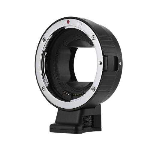 ソニーA7 NEX EマウントA7 A7R A7II A7SII A7RII A6000 A6300 A6500 A5300 ILDCカメラ用キヤノンEF / EF-Sレンズ用Andoer EF-NEX IV高速電動レンズマウントアダプターリングAFオートフォーカス自動絞り露出調整可能な手ぶれ