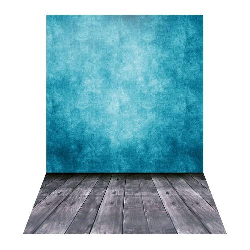 1.5 * 2.1m / 5 * 6.9ft Photographie Contexte Fond Numérique Imprimé Vert Ciment Mur Bois Plancher Motif pour Enfant Enfants Bébé Nouveau-né Portrait Studio Photographie