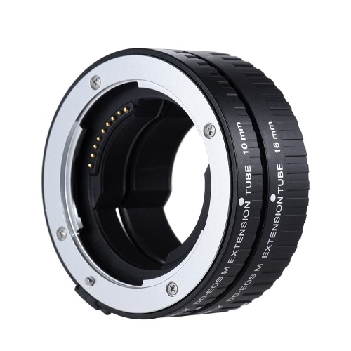 Viltrox DG-EOS M Automatic Extension Tube 10mm and 16mm Auto Focus for Canon EF-M Mount Series Mirrorless Camera and Lens D4508