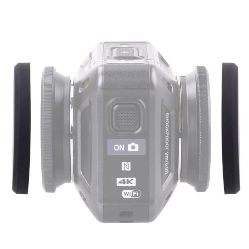Силиконовый защитный крышка объектива и подводный крышка объектива для Nikon KeyMission 360 камеры фото