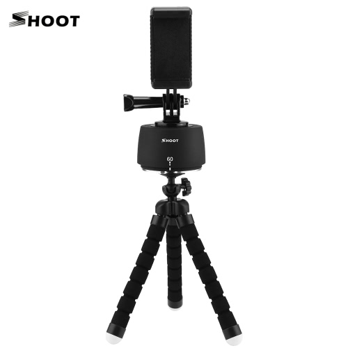 SHOOT XTGP173B 360°/60 Minutes Manual Panoramic Time-Lapse Photography Pan Head