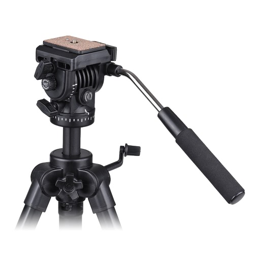 Kingjoy VT-1500 166cm/5.4ft Portable Lightweight Camera Video Tripod