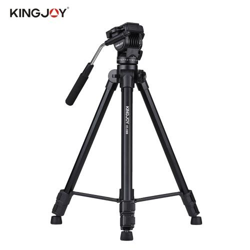 Kingjoy VT-1500 166 cm / 5,4ft Przenośny Lekki Kamera wideo Statyw
