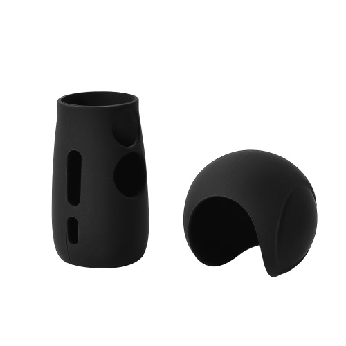 Cubierta de silicona caso protector de piel para Samsung Gear 360 2017 edición panorámica de la cámara