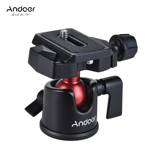 Andoer Mini Ball Head Panoramic Photography Head