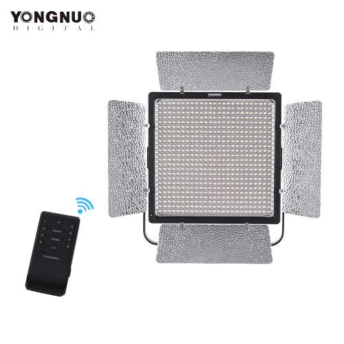 YONGNUO YN860 3200K-5500K Bi-Colour Temperature Pro Dioda LED Video Light Wypełnienie światła Regulowana jasność CRI 95+ z filtrami CT Zdalne sterowanie obsługą APP Zdalne sterowanie dla Studio Macro Film Portret ślubny Oświetlenie zewnętrzne