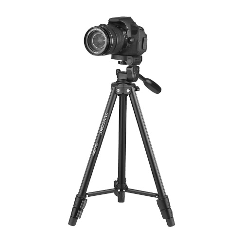 YUNTENG VCT-580 Portable Lightweight Aluminum Alloy Tripod Max. Load 1.5kg with 1/4