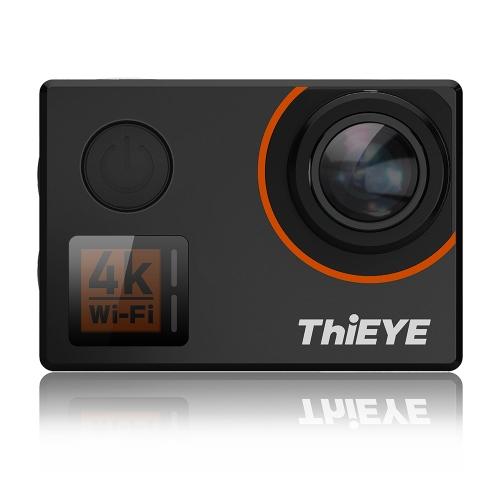 ThiEYE T5 Borda 4K WiFi Action Sports Câmera 20MP 1080P Voz Controle Remoto 6 eixos EIS Estabilização 2.0inch IPS Distorção Correção 60m Suporte Impermeável Time-Lapse Rápido / Slow Motion