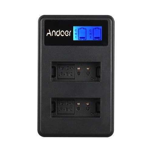 Andoer LCD2-LPE12 Cámara LCD compacta de