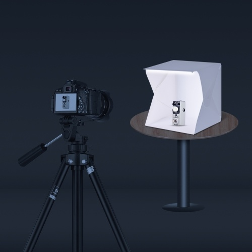 Tragbare DIY LED Studio Licht Box Zelt Kit Mini faltbare Fotostudio Softbox