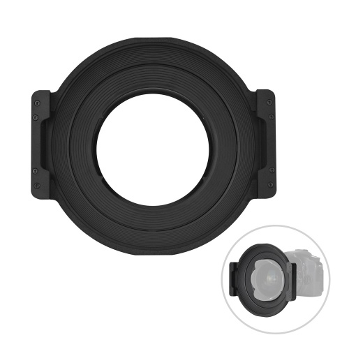 YONGNUO Professional 150mm Square Filter Holder with Adapter Ring Kit 360 Degree Rotation Lightweight Aviation Aluminum Alloy