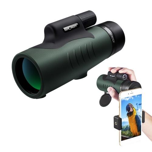 K & F CONCEPT 12X50 Télescope monoculaire HD haute résolution