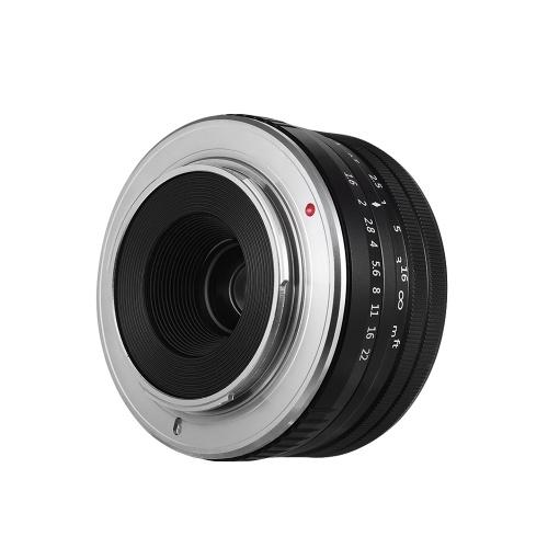VELEDGE 32mm F/1.6 Super High Resolution Large Aperture Standard Camera Prime Lens Lightweight MF Manual Focus Lens  0.25m Closest Focal Length for Fuji Fujifilm   X-Mount Mirrorless Cameras for Fuji X-A1 X-A10 X-A2 X-A3 X-at X-M1 X-M2 X-T1 X-T10 X-T2 X-T20 X-Pro1 X-Pro2 X-E1 X-E2 X-E2s