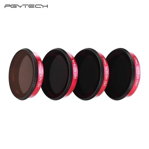 PGYTECH Профессиональный объектив камеры ND-PL Filter Set