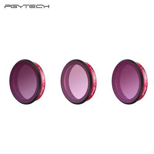 PGYTECH 3pcs Professional Lens Gradient Filters Set Kit