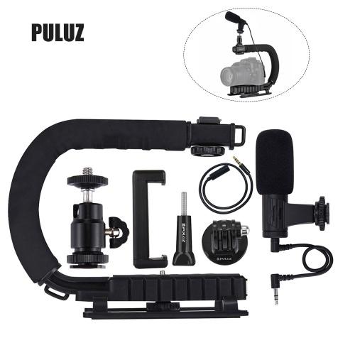 U-образный кронштейн для камеры PULUZ Портативная видеокамера DV Комплект стабилизатора кронштейна DV