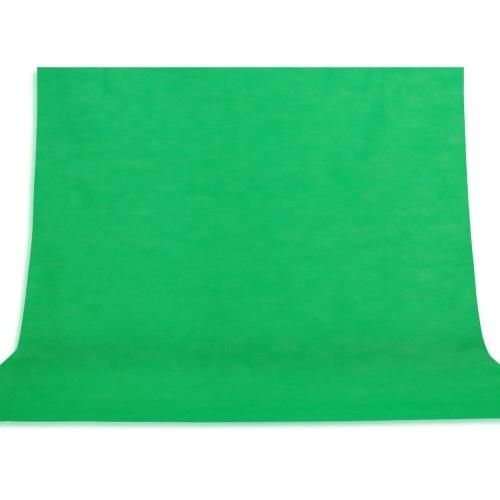 Tissu non tissé 3 * 2M de Backgrop de photographie verte de fond de photo