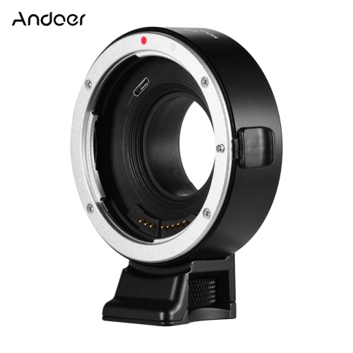 Andoer EF-FX Auto Focus Lens Mount Adapter Ring Compatible with Canon EF/EF-S Mount Lens to Fujifilm X-Mount Mirrorless Cameres X-T1 X-T2 X-T10 X-T20 X-A1 X-A2 X-A3 X-A5 X-A10 X-A20 X-E1 X-E2 X-E3 X-E2S X-H1 X-PRO1 X-PRO2