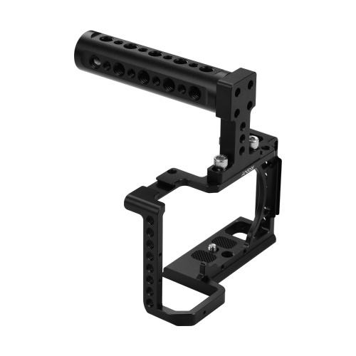Andoer Professional Photography Camera Cage Kit Aluminum Alloy Camera Case Bracket with 1/4