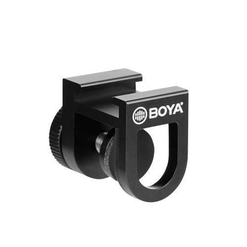 BOYA BY-C12 Universal Smartphone Cold Shoe Bracket
