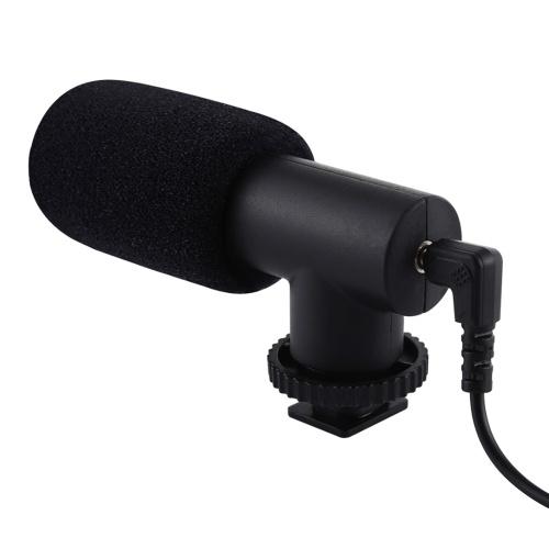 Mini microphone à condensateur unidirectionnel K-song / Interview / Microphone d'enregistrement à condensateur