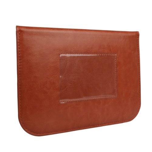 Square Camera Filter Pouch Storage Bag Case Holder PU for 15*10 10*10 Square Lens Filter