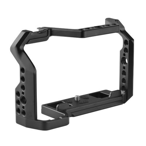 Видеокамера из алюминиевого сплава с креплением для холодного башмака Нижняя пластина Arca-Swiss QR Замена установочного отверстия ARRI для камеры Fuji X-S10