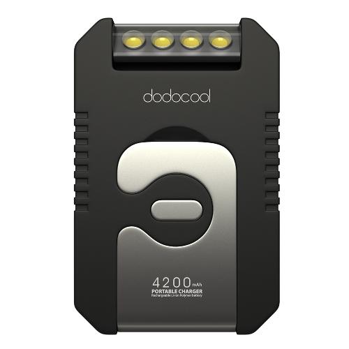 Dodocool Portable 4200 mAh Solar Ladegerät