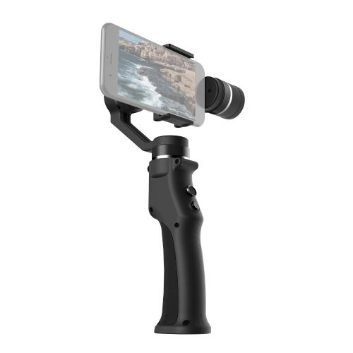 Stabilisateur de cardan portable à 3 axes pour smartphone