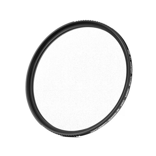 K&F CONCEPT Soft Focus Filter Diffusionsfilter Objektiv Black Mist 1/8 mit Wasserdicht Kratzfest für Kameraobjektiv 49mm Durchmesser