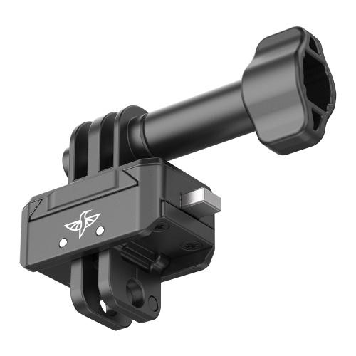 Ulanzi Aluminium Quick Release Mount Base 2 kg Nutzlast für Action-Kamera mit universeller 1/4 Schnittstelle