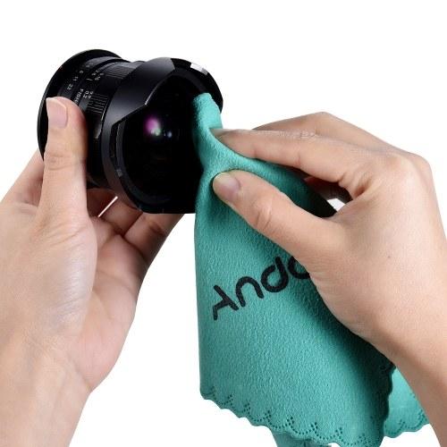 Andoer クリーニングクロス 布 スクリーン/ガラス/レンズの掃除 Canon Nikon DSLR カメラ/カムコーダー/iPhone/iPad/タブレット型コンピュータ適用