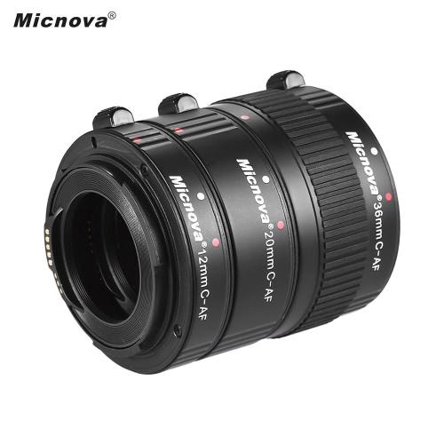 Micnova KK-C68P AF Makro Verlängerungsröhrchen Set für Canon (12mm / 20mm / 36mm) 60D 70D 5D2 5D3 7D 6D 650D 600D 550D
