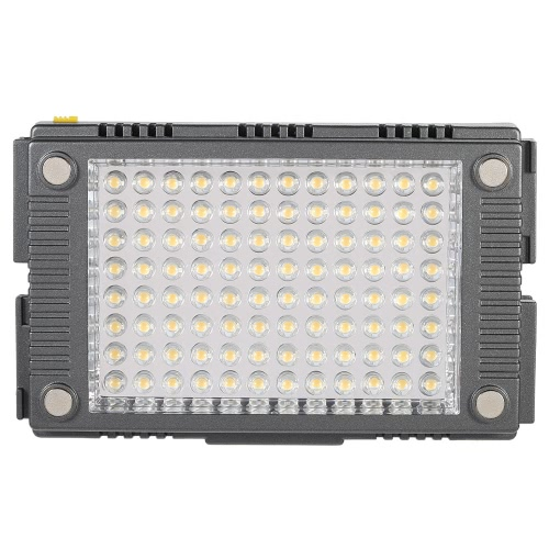 F&V Z-Flash 96pcs Beads Digital Studio Video Photo Photography 5600K with 3200K Filter Dimmable Illumination Pad Panel Lamp LED  Flash Light Speedlite Lighting for Canon Nikon DSLR Camera DV Camcorder