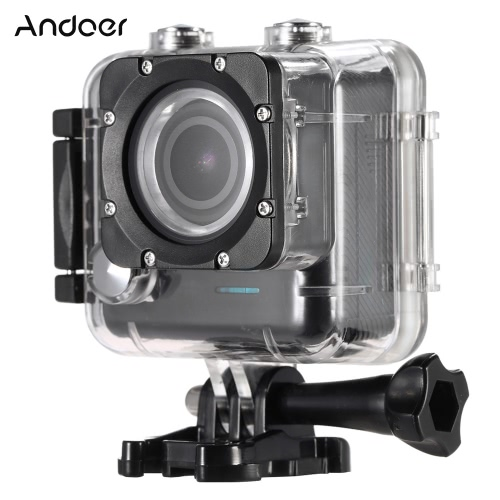 Andoer 4K 24FPS 1080P Full HD 2.0TFT Screen Wifi Waterproof 30M 170°Wide Angle Action Sports Camera