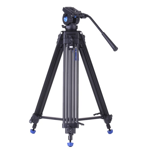 Benro KH25N Professional Video Tripod Aluminum Alloy Video Camera Tripod