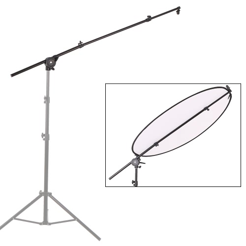 Support de diffuseur réflecteur photographique extensible Studio