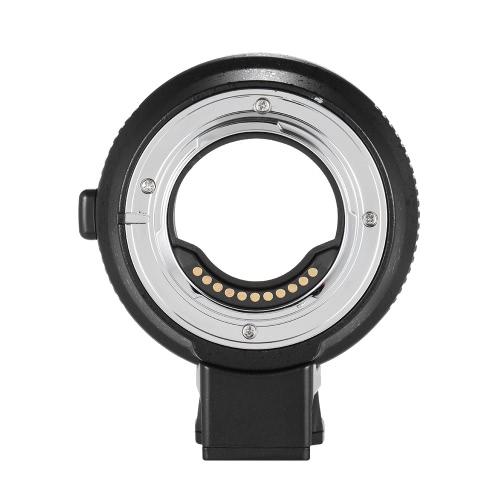 Exposition Andoer EF-MFT électronique Lens Mount Adapter Anneau Aperture Auto Control intégré IS pour Canon EF / EF-S à M4 / 3 pour Olympus PEN E-P1 P2 / 3/5 E-PL1 OM-D E -M5 pour Panasonic LUMIX GH2 / 3/4