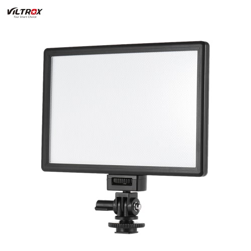 Viltrox L116B Professional Ultra-thin LED Video Light Photography Fill Light Adjustable Brightness Max Brightness 1002LM 5400K CRI95+ for Canon Nikon Sony Panasonic DSLR Camera and Camcorder