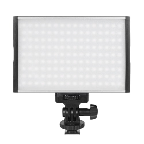 Tolifo PT-15B Pro 3200K High Power Ultra-cienka Ściemnialny Bi-Color Temperature - 5600K 144pcs LED Fill-in Na panelu aparatu Lampa Max 1500LM do Canon Nikon Sony DSLR Camera Kamera Video Studio Fotografia