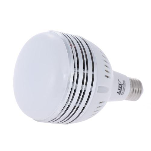 60W LED Daylight Balanced E27 5400K Light Bulb Studio Modeling Lamp for Photography Video Lighting 100~250V