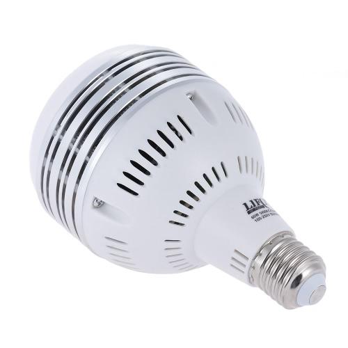 写真ビデオライティング100〜250V用60W LEDデイライトバランスE27 5400K電球メーカーのモデリングランプ
