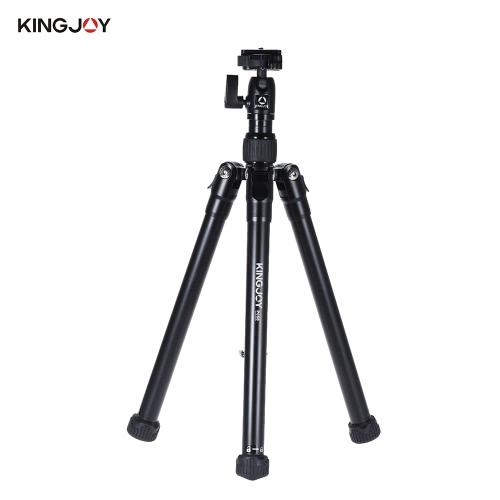 KINGJOY P056 5節のデジタル一眼レフカメラの三脚多機能ライト&ポータブルアルミ合金三脚が自分撮りスティックに変えることができます/ソニーキヤノンとその他のブランドDSLR ILDC DV用スタンド